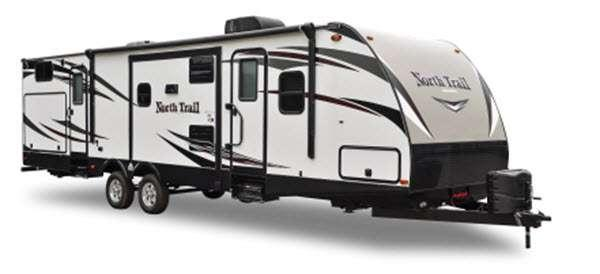 Outside - 2016 North Trail 26LRSS King Travel Trailer