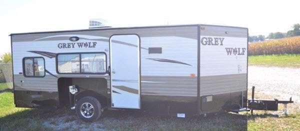 Cherokee Grey Wolf Stock Photo