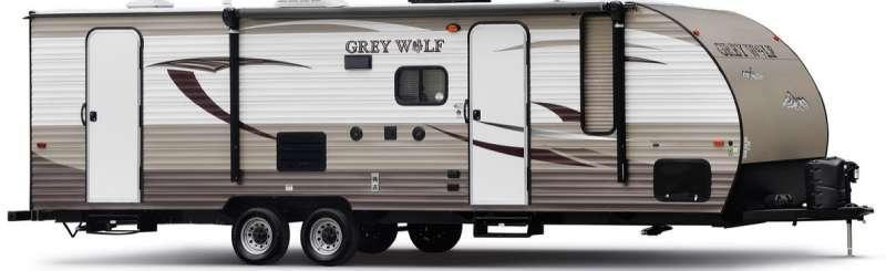 Outside - 2016 Cherokee Grey Wolf 29VT Travel Trailer