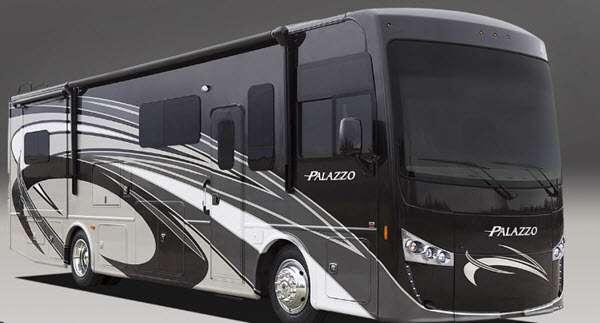 Outside - 2014 Palazzo 35 1 Motor Home Class A - Diesel