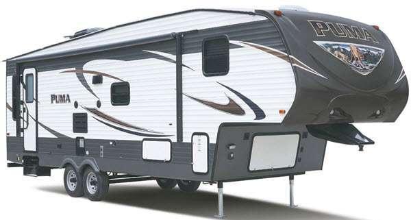 Outside - 2016 Puma 295-BHSS Fifth Wheel