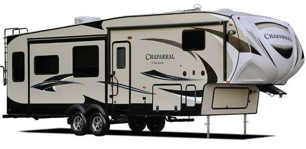 Outside - 2015 Chaparral 345BHS Fifth Wheel