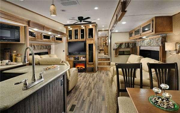 Inside - 2015 Chaparral 345BHS Fifth Wheel