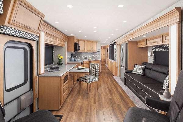 Inside - 2014 Canyon Star 3630 Motor Home Class A