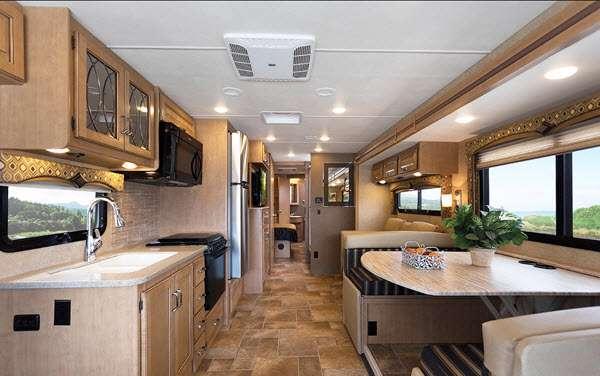 Inside - 2016 Hurricane 34J Motor Home Class A