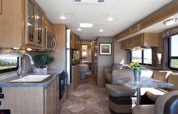 Inside - 2014 Miramar 34 3 Bunkhouse Motor Home Class A