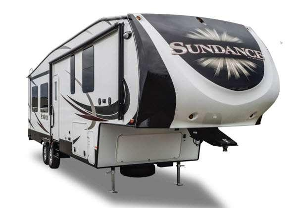 Outside - 2015 Sundance XLT 277RL Fifth Wheel