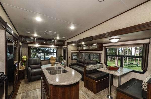 Inside - 2015 Sundance XLT 277RL Fifth Wheel