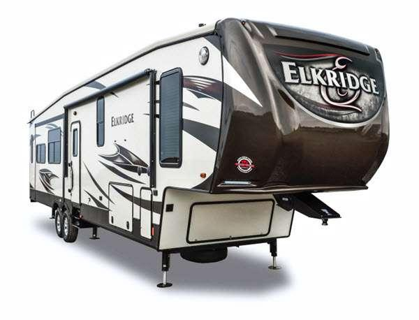 Outside - 2014 ElkRidge 36FLPS Fifth Wheel