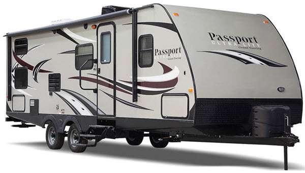 Outside - 2016 Passport 2250RB Grand Touring Travel Trailer