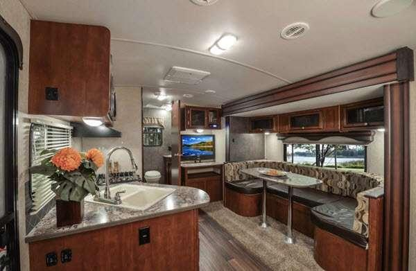 Inside - 2016 Wilderness 2650BH Travel Trailer