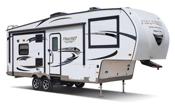 Outside - 2016 Flagstaff Classic Super Lite 8528IKWS Fifth Wheel