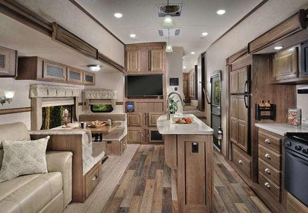 Inside - 2016 Flagstaff Classic Super Lite 8528IKWS Fifth Wheel