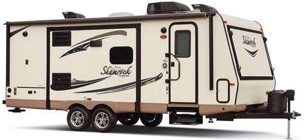 Outside - 2016 Flagstaff Shamrock 23IKSS Expandable