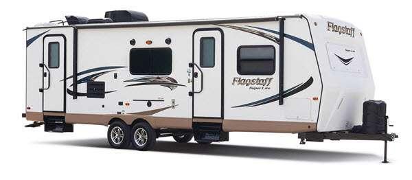 Outside - 2016 Flagstaff Super Lite 29IKTS Travel Trailer