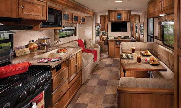 Inside - 2016 Flagstaff Super Lite 26RLWS Travel Trailer