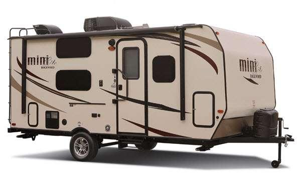 Outside - 2016 Rockwood Mini Lite 2104S Travel Trailer