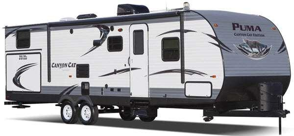 Outside - 2014 Canyon Cat 22CBC Travel Trailer