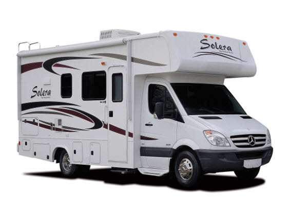 Outside - 2014 Solera 24MS Motor Home Class C - Diesel