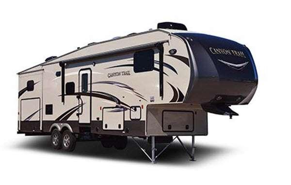 Outside - 2016 Canyon Trail 36FBQS Advanced Profile Fifth Wheel