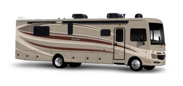 Outside - 2016 Bounder 33C Motor Home Class A