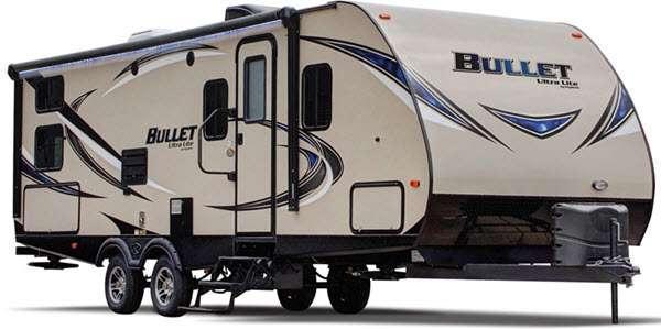 Outside - 2014 Bullet 286QBSWE Travel Trailer
