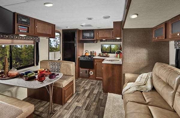 Inside - 2014 Bullet 286QBSWE Travel Trailer