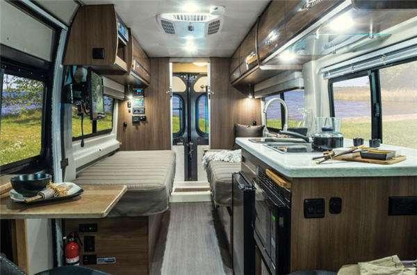 Inside - 2016 Travato 59G Motor Home Class B