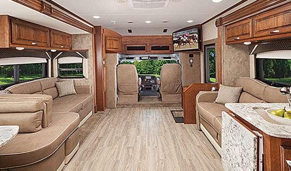 Inside - 2015 DX3 37RB Motor Home Class C - Diesel