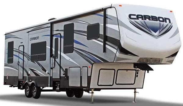 Outside - 2016 Carbon 327 Toy Hauler Fifth Wheel