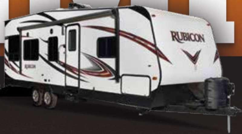 Outside - 2016 Rubicon 1905 Toy Hauler Travel Trailer