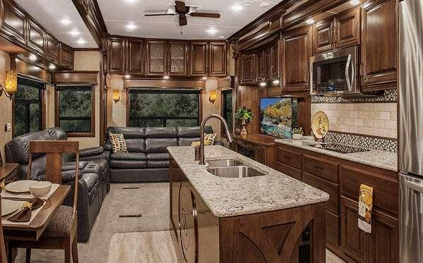 Inside - 2016 Elite Suites 43 Manhattan Fifth Wheel
