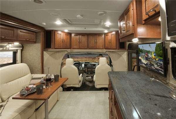 Inside - 2016 Aspect 30J Motor Home Class C