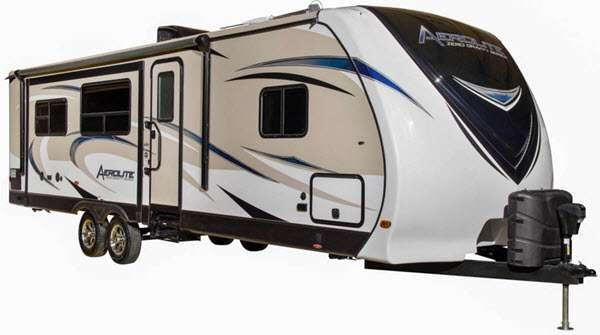 Outside - 2015 Aerolite 205KB Travel Trailer