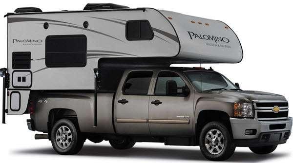 Outside - 2016 Backpack Edition HS 6601 Truck Camper
