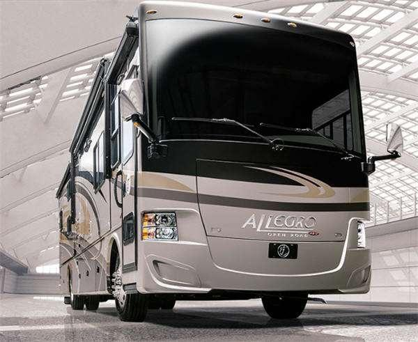 Outside - 2016 Allegro RED 38 QBA Motor Home Class A - Diesel
