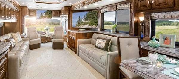 Inside - 2014 Allegro Bus 40 QXP Motor Home Class A - Diesel