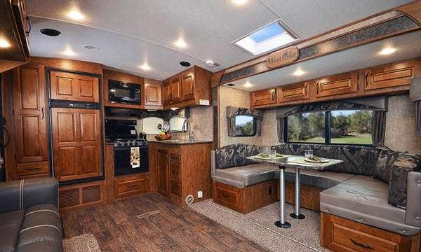 Inside - 2016 Wind River 250RLSW Travel Trailer