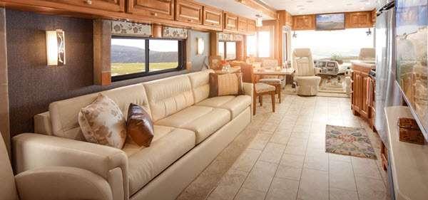 Inside - 2016 Allegro 31 SA Motor Home Class A