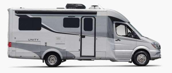 Outside - 2016 Unity U24IB Motor Home Class B+ - Diesel