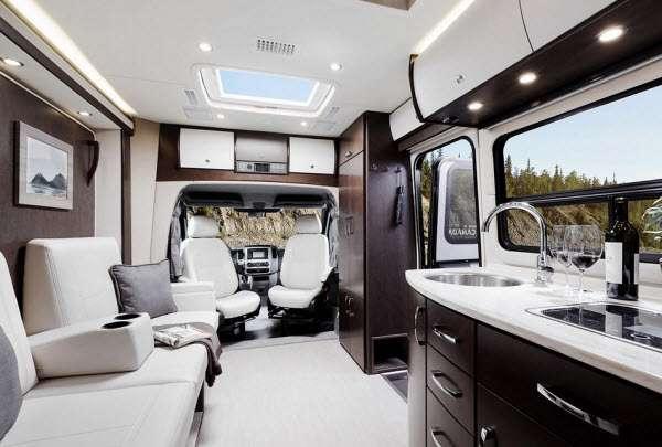 Inside - 2016 Unity U24IB Motor Home Class B+ - Diesel