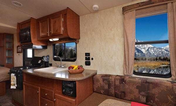 Inside - 2016 Nash 25C Travel Trailer