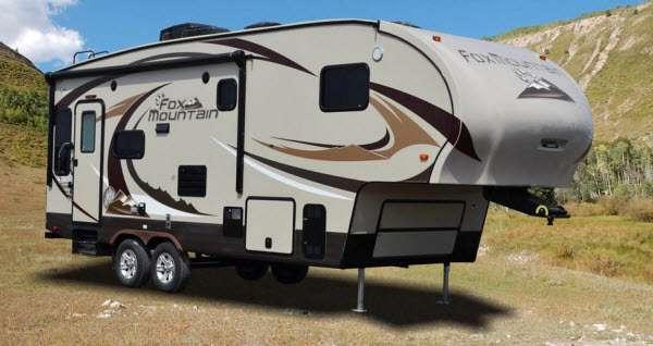 Outside - 2013 Fox Mountain 245RKS Fifth Wheel