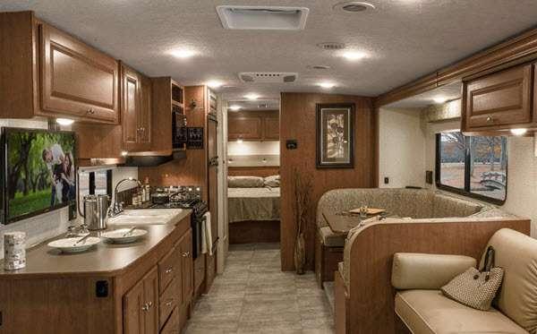 Inside - 2015 Sunstar 36Y Motor Home Class A