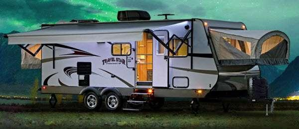 Outside - 2017 Travel Star 227CKS Expandable