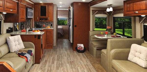 Inside - 2017 DX3 37RB Motor Home Class C - Diesel