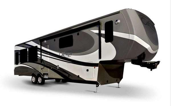 Outside - 2017 Carriage CG40RE Fifth Wheel