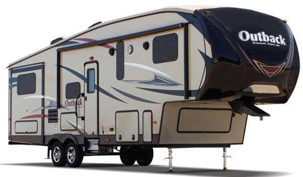 Outside - 2017 Outback 315FRE Fifth Wheel