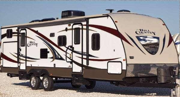 Outside - 2014 Hill Country HCT32FR Travel Trailer