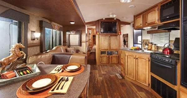 Inside - 2014 Hill Country HCT26BH Travel Trailer